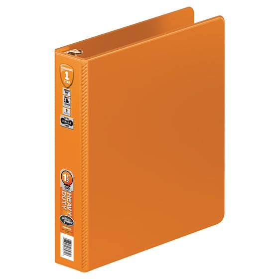 Wilson Jones® Heavy Duty Round Ring Binder with Extra Durable Hinge, 1 1/2""