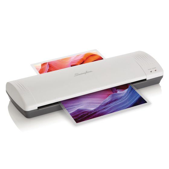 "Swingline Inspire Plus Thermal Pouch Laminator, 12 1/2"" Max Width, 5 Minute Warm-up, 3-5 Mil"