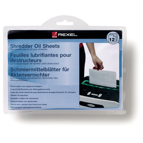 Shredder Oil Sheets