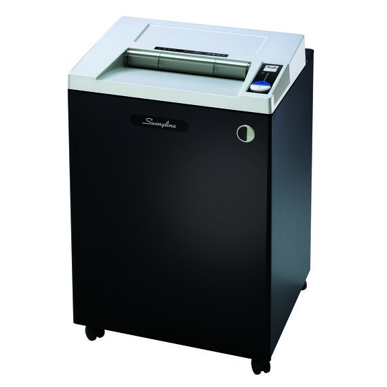 Swingline® TAA Compliant CS25-44 Strip-Cut Commercial Shredder, Jam-Stopper®, 25 Sheets, 20+ Users