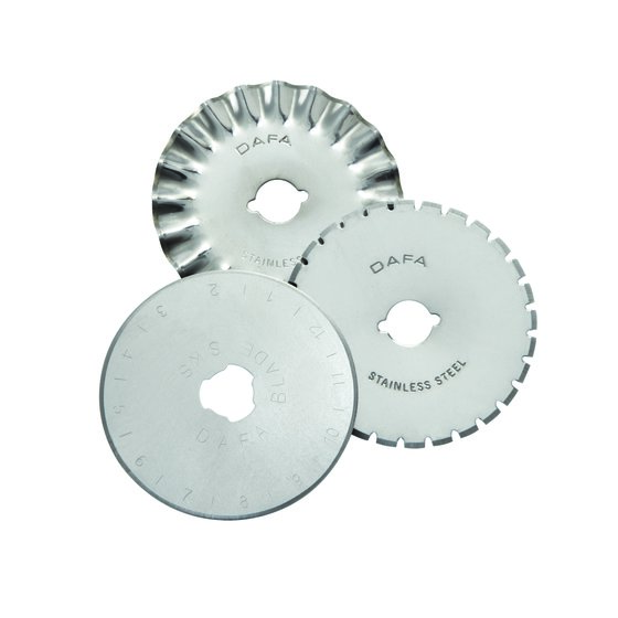 Swingline® Handheld Rotary Trimmer Accessory Blades, 1 Straight, 1 Perforator & 1 Wave Blade Included