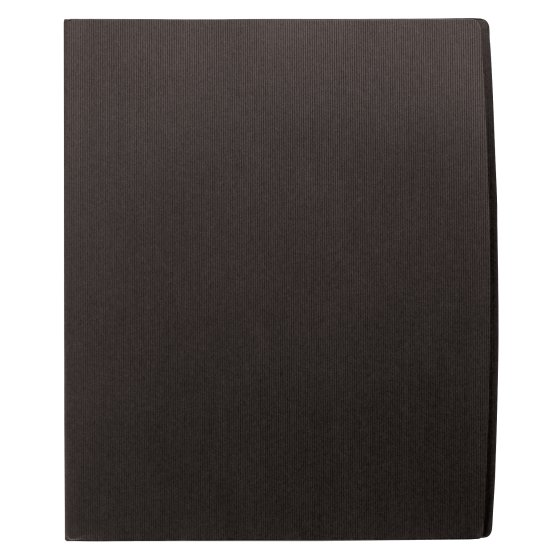 GBC® Designer Two Pocket Folder, 60 Sheets, Black, 5 Pack