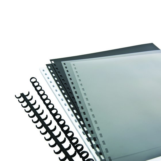 Swingline™ GBC® ZipBind® Pre-Punched Presentation Kit, Spines, Covers & Paper Included
