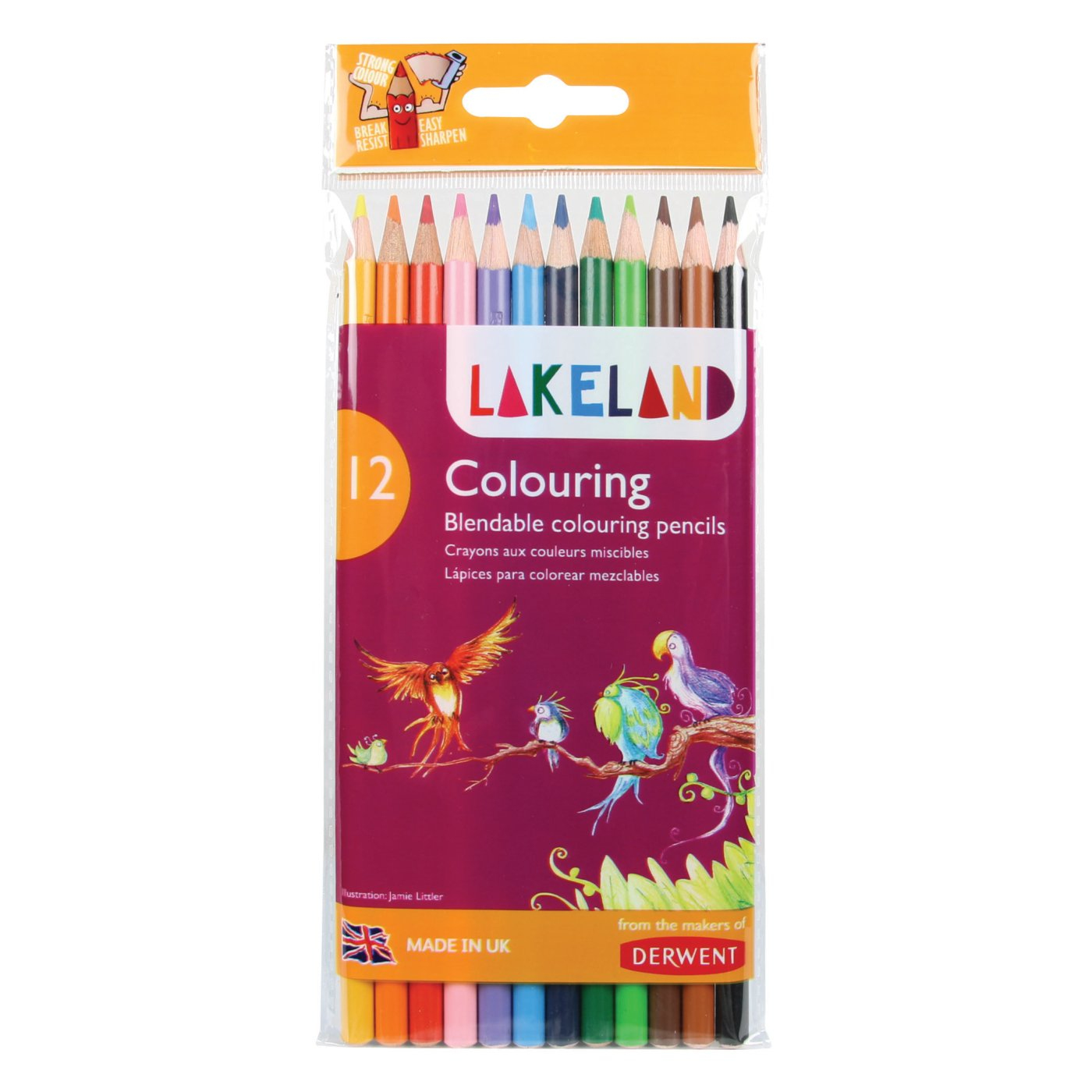 Derwent - Shop - Creative Children - Colouring - Lakeland Colouring ...