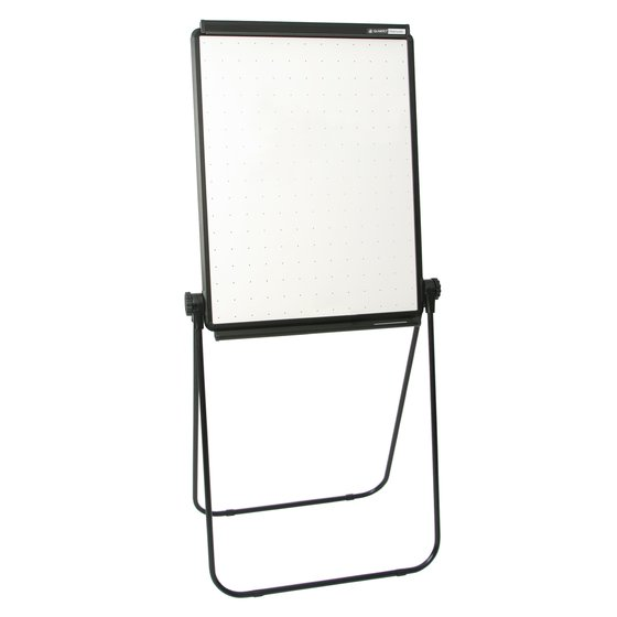 "Quartet® Unimate® Total Erase® Easel, Whiteboard, 26"" x 34"", Black Frame"