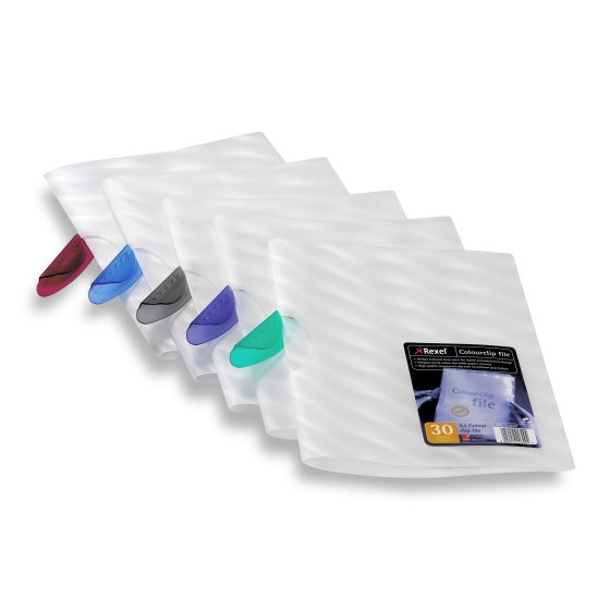 Dossier clipsable A4, coloris assortis