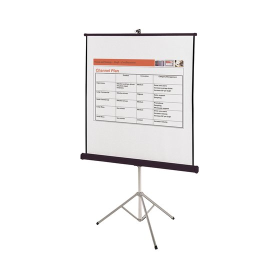Quartet® Portable Tripod Projection Screens