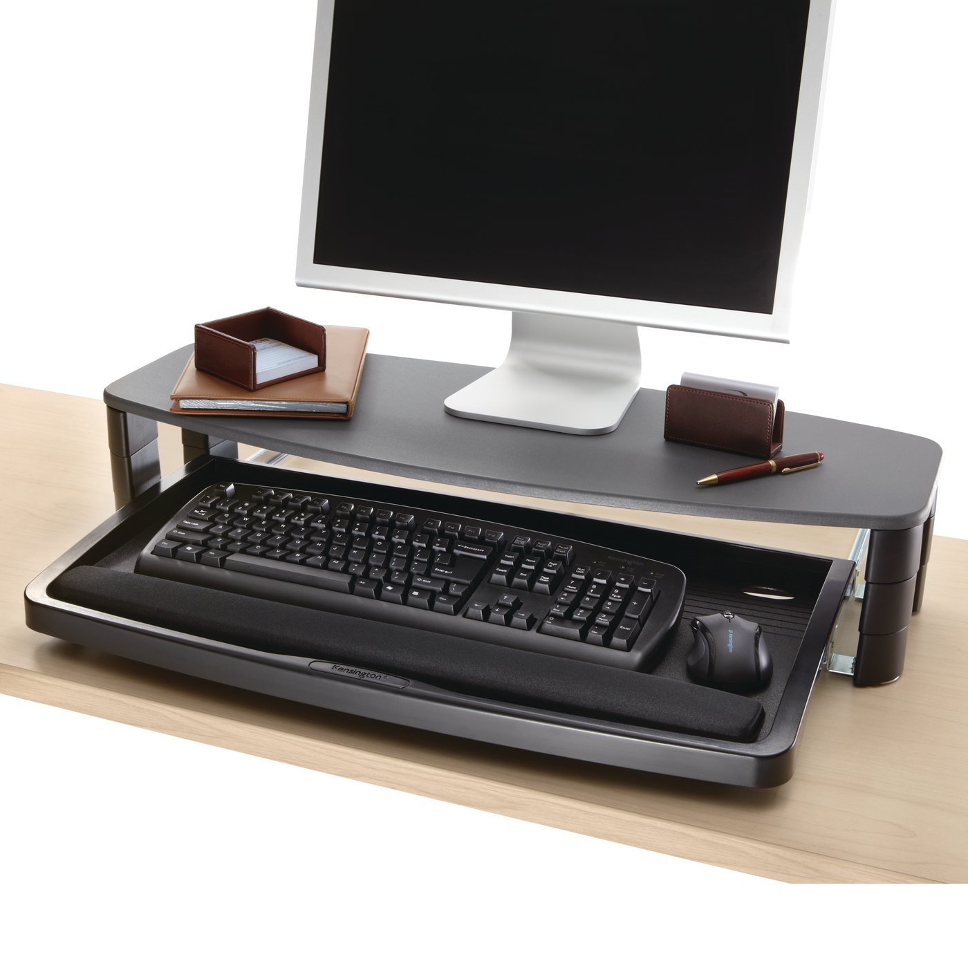 akd computer products drawer and htm keyboard tray
