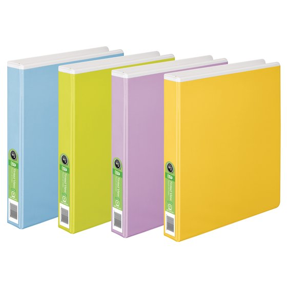Wilson Jones® Tinted View Round Ring Binders, PVC Free