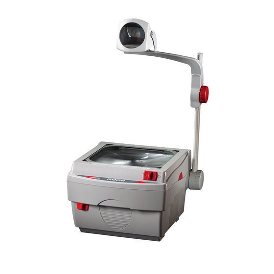 "Apollo® 3002 Overhead Projector, 3000 Lumen Output, 11.25"" x 11.25"", Closed Head"