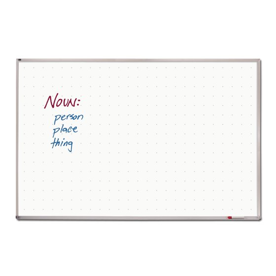 Quartet® Total Erase® Whiteboards, Aluminum Frame