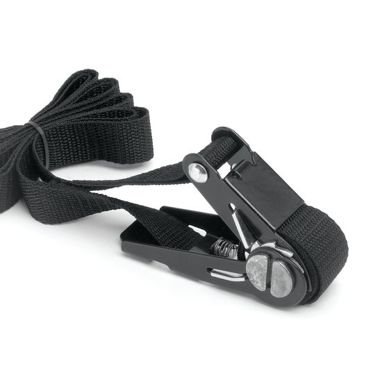Quartet® Ratchet Safety Belt, 12' Length, Black