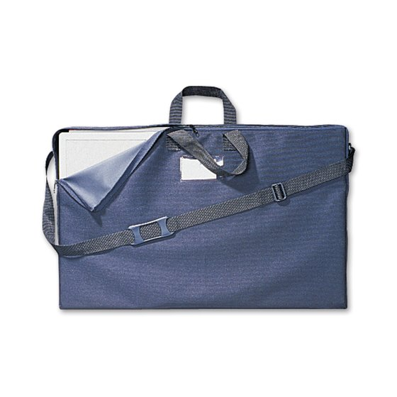 Quartet® Tabletop Display Carrying Case, Black Canvas