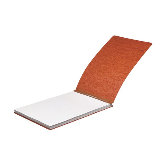 "ACCO® Pressboard Report Covers with Spring-Style Fasteners, Top Binding for Letter Size Sheets, 2"" Capacity, Earth Red"