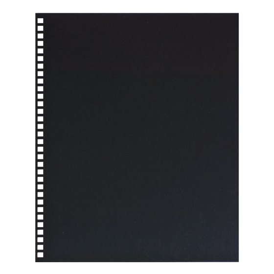 "GBC Binding Presentation Covers, Regency, 8 1/2"" x 11"", Black, 25 Pack"