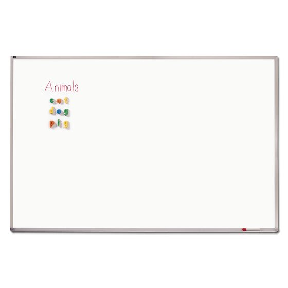 Quartet® DuraMax® Porcelain Magnetic Whiteboards, Aluminum Frame