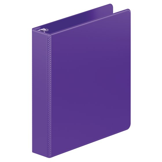 Wilson Jones® Heavy Duty D-Ring Binder with Extra Durable Hinge, 1 1/2""