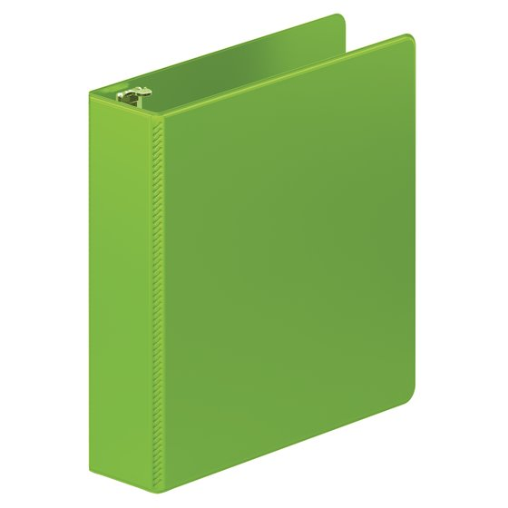 "Wilson Jones Heavy Duty D-Ring Binder with Extra Durable Hinge, 2"", Chartreuse"