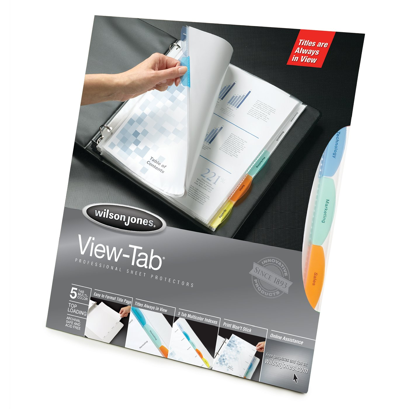 Templates Wilsonjones Com | Wilson Jones Binder Accessories Sheet Protectors Wilson Jones