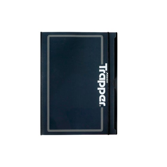 Trapper 8-Pocket Project Folder Black