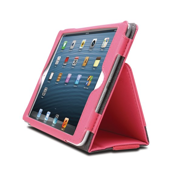 Portafolio™ Soft Folio Case for iPad mini™ 3/2/1  - Pink