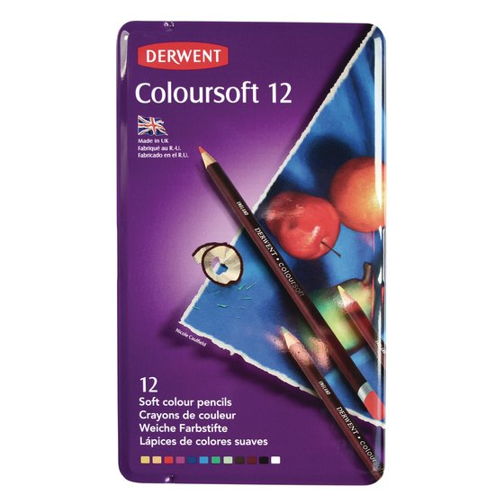 Coloursoft Pencils 12 Tin