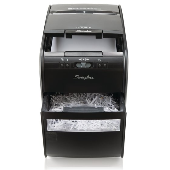 GBC Stack-and-Shred 80X Auto Feed Shredder, Cross-Cut, 80 Sheets, 1 User