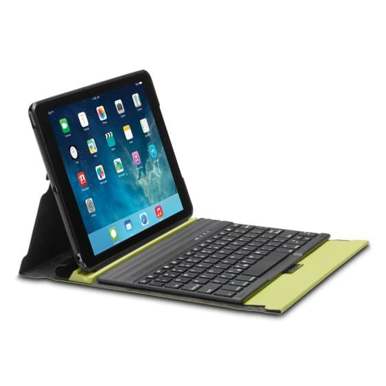 KeyFolio Exact™ - Thin Folio with Keyboard for iPad® Air - Chartreuse