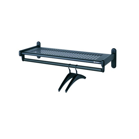 Quartet® Shelf Garment Rack