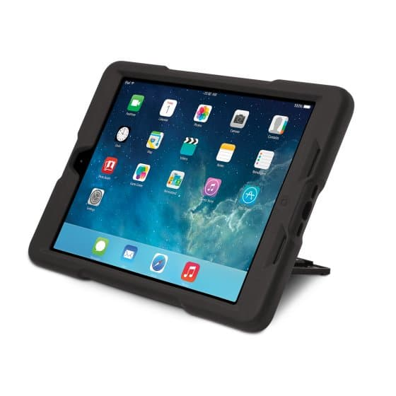 BlackBelt 2nd Degree Rugged Case for iPad Air — Black
