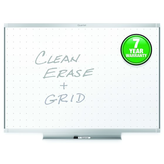 Quartet® Prestige® 2 Total Erase® Whiteboards, Aluminum Frame