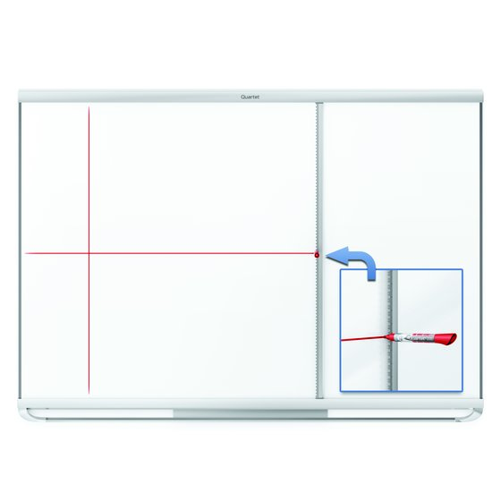 Quartet® Prestige 2 Connects™ Full Board Grid Assistant, 4' x 3' Board Compatible