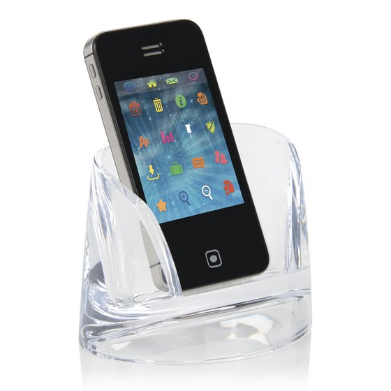 Swingline® Stratus™ Acrylic Mobile Phone Holder, Clear