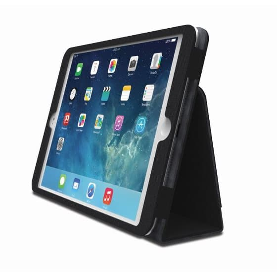 Comercio™ Soft Folio Case & Stand for iPad® Air (Black)