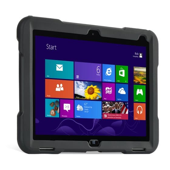 "BlackBelt™ 1st Degree Rugged Case for HP ElitePad 10"" — Black"