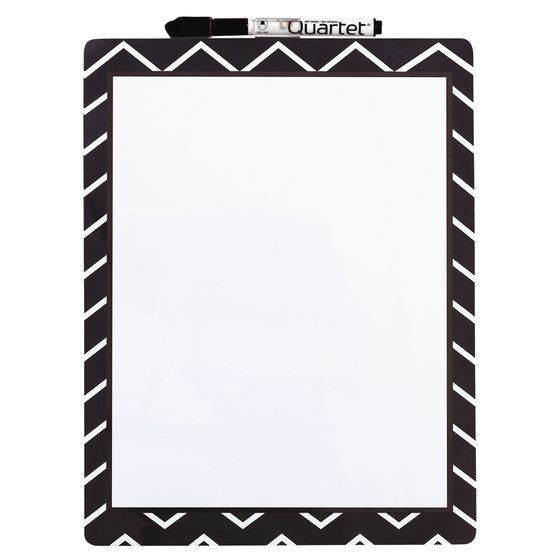 Magnetic Dry Erase Fashion Board Chevrons 230x280mm