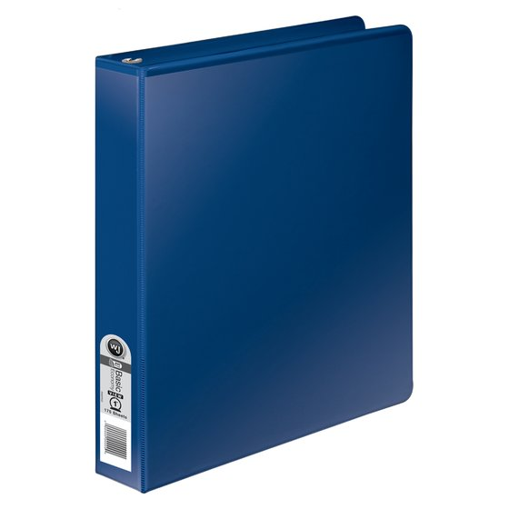 Wilson Jones® 362 Basic Round Ring View Binders, 1""