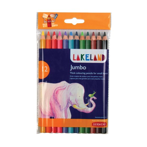 Lakeland Jumbo Colouring 12 Pack