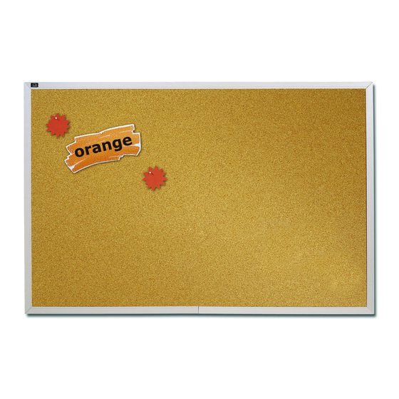 Quartet® Natural Cork Bulletin Boards, Aluminum Frame