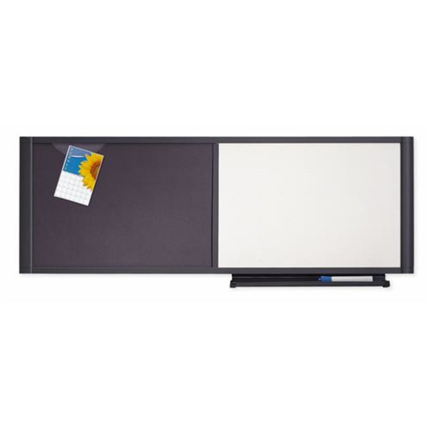 Quartet boards combination boards quartet prestige Cubicle bulletin board ideas