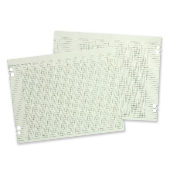 "Wilson Jones® Columnar Ruled Sheets, 11"" x 17"""