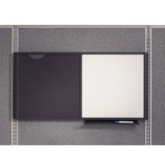 Quartet boards cubicle solutions quartet prestige Cubicle bulletin board ideas