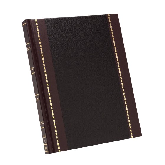 "Wilson Jones® S295 Account Book, 10 5/8"" x 8 1/4"", 31 Lines, 150 Pages, Record Ruled"