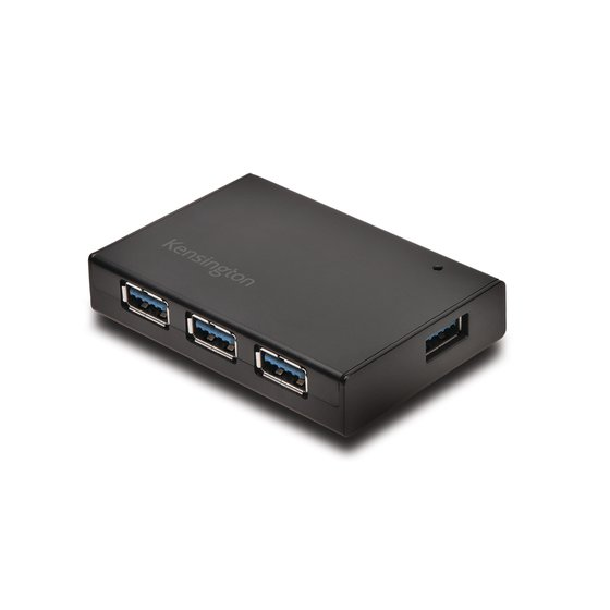 UH4000C USB 3.0 4-Port Hub & Charger — Black
