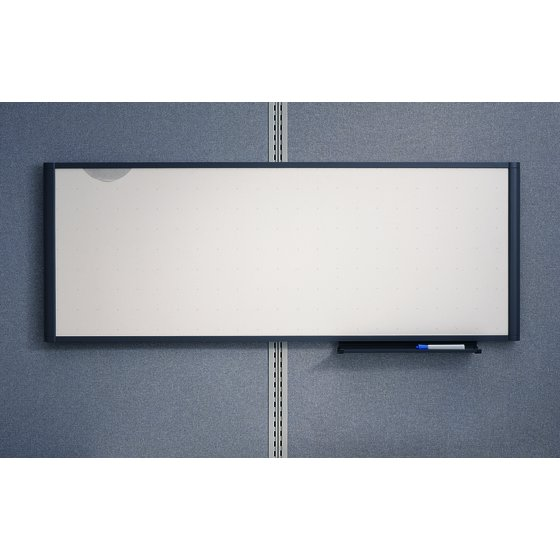 Enclosed dry erase