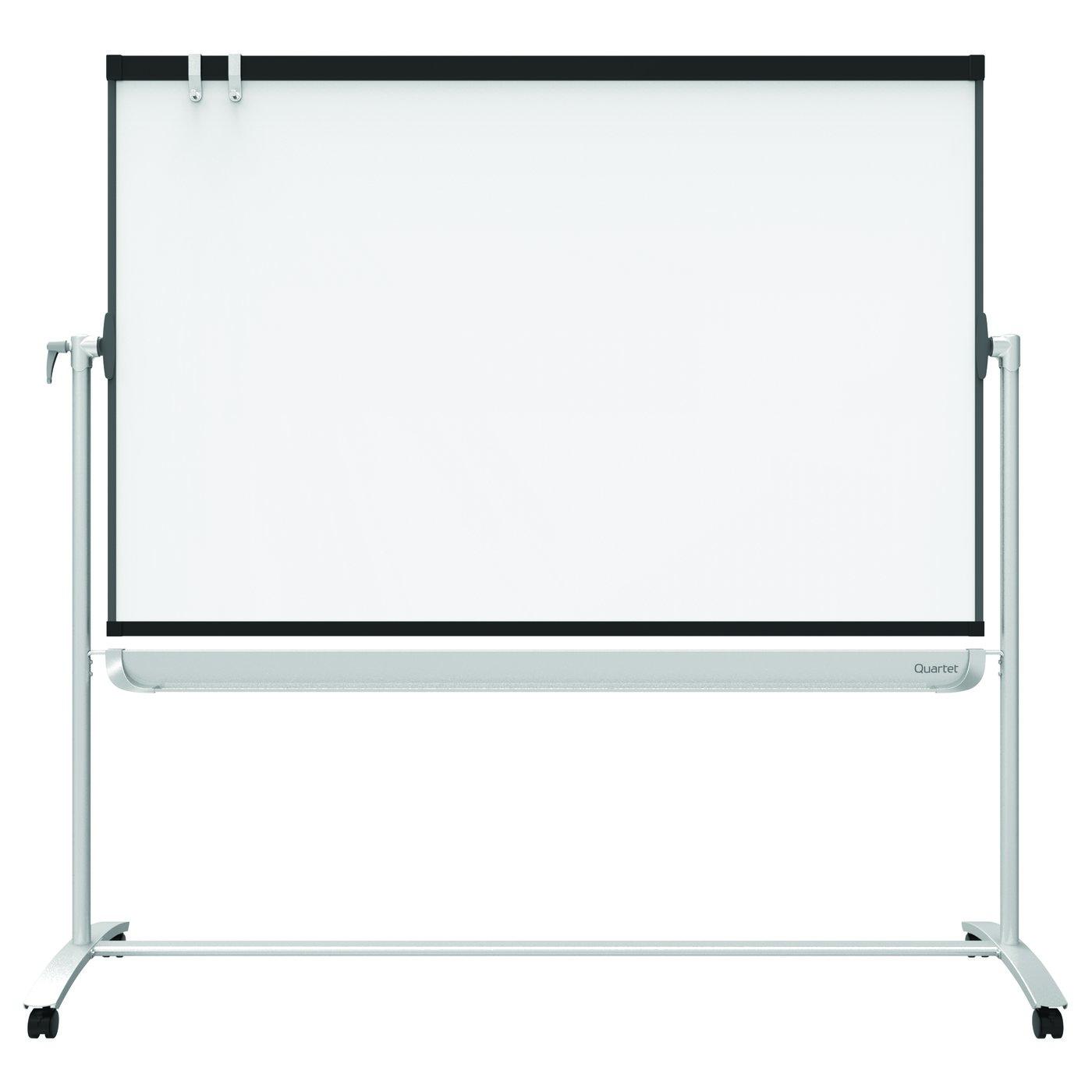 quartet prestige 2 mobile presentation easel reversible magnetic whiteboardflipchart 4 - Magnetic White Board