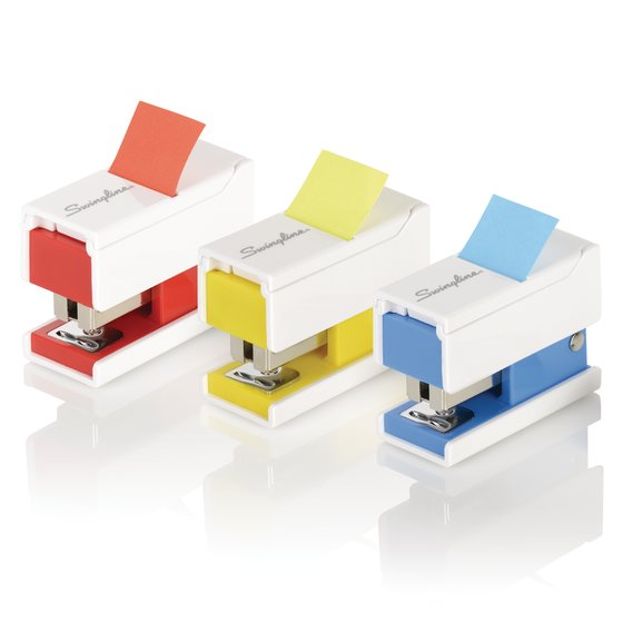 Swingline® Mini Staplers with Flags