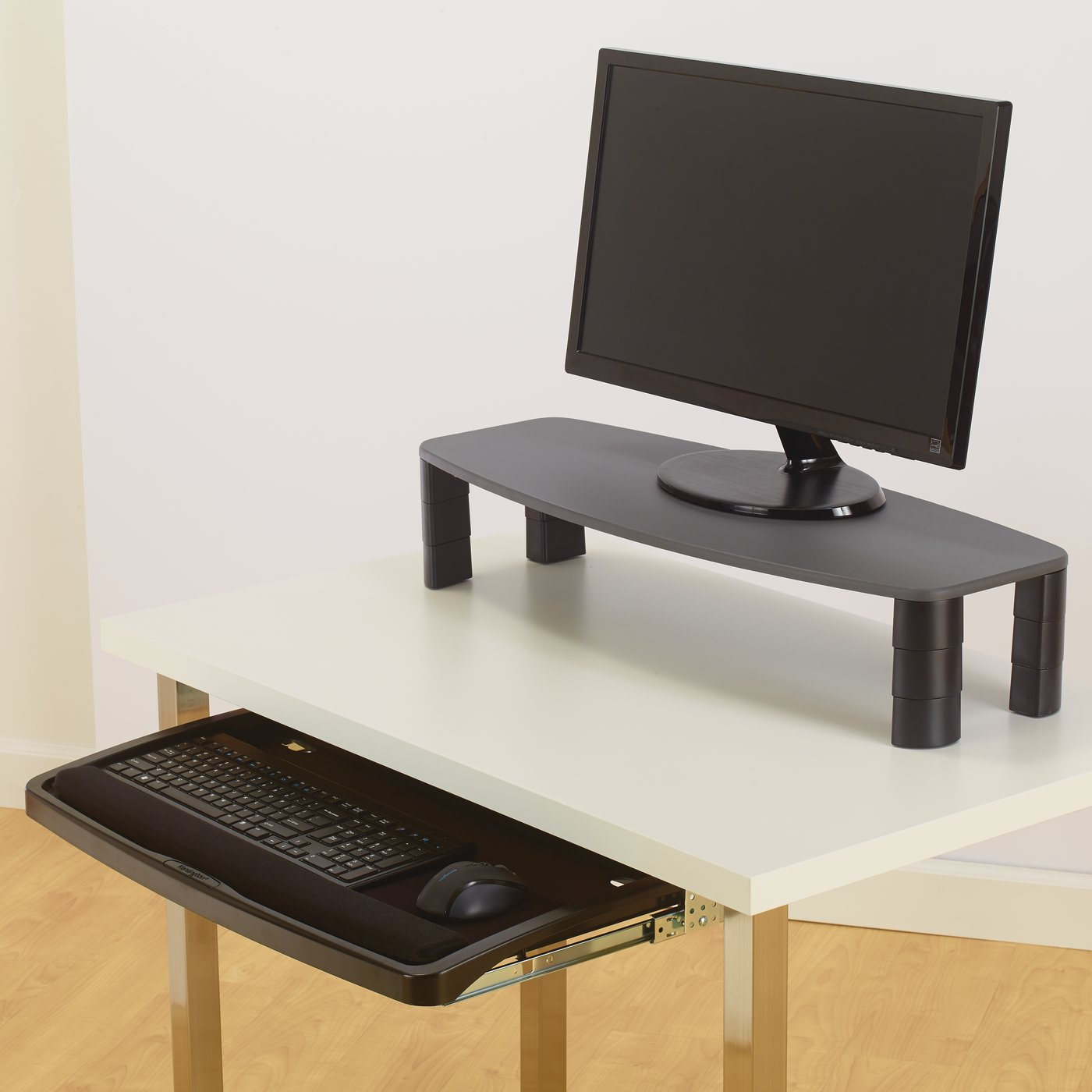 mead desk non keyboard under go adjustable drawer hatcher
