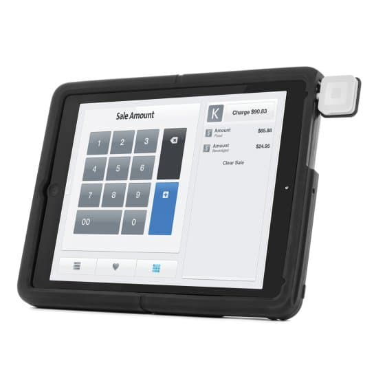 SecureBack™ Rugged Payments Case for 9.7-inch iPad® models