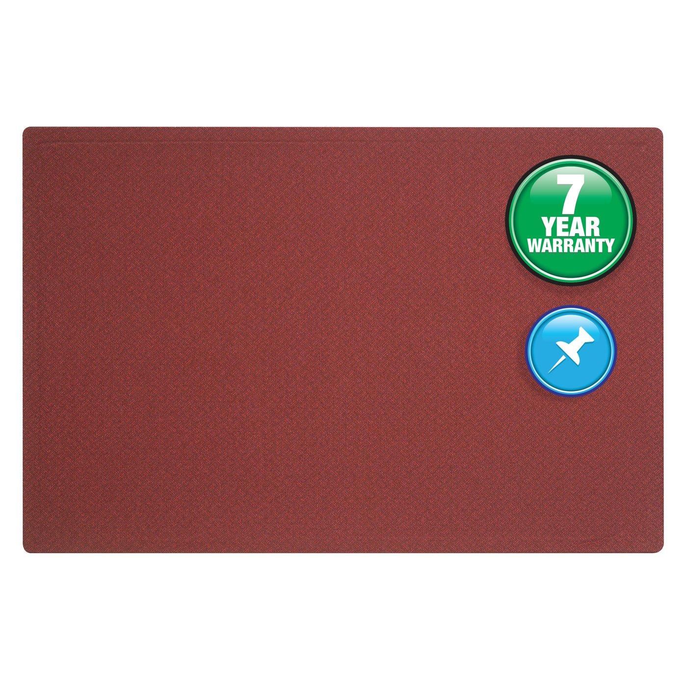 Quartet® Oval Office™ Fabric Bulletin Board, 4u0027 X 3u0027, Frameless